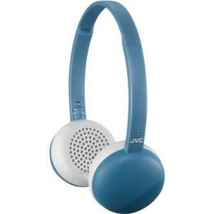 Casque Bluetooth avec Micro Jvc HA-S20BTA Flats - Bleu/Blanc