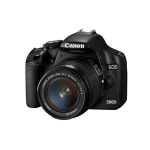 Canon EOS 500D - Noir + Objectif EF-S 18-55mm f/3.5-5.6 III