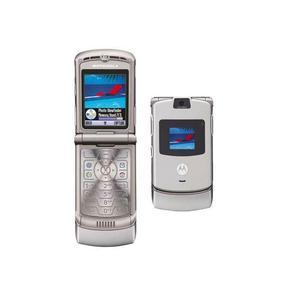 Motorola RAZR V3 - Plata- Libre