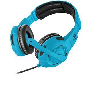 Casque Gaming avec Micro Trust GXT 310-SB Spectra Gaming - Bleu/Noir