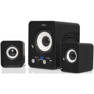 Lautsprecher Soundphonic 2.1 Multimédia Speaker Set 6W RMS - Schwarz