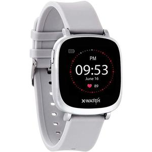 Smart Watch Cardio­frequenzimetro X-Watch Ive XW Fit Urban - Argento
