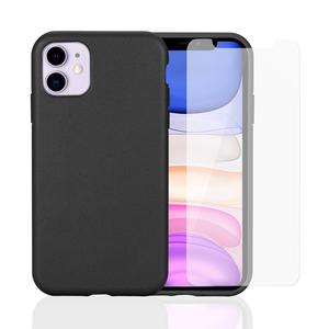 Hülle und Schutzfolie KPMA Pack cover iPhone 11