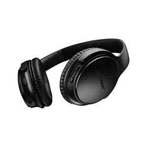 Kopfhörer Rauschunterdrückung Bluetooth mit Mikrophon Bose QC35 II - Schwarz