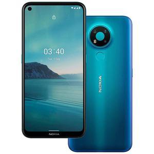 Nokia 3.4 64GB Dual Sim - Sininen - Lukitsematon