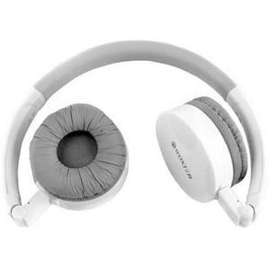 Cascos Bluetooth Micrófono Woxter BT-60 - Blanco/Gris