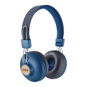 Casque Bluetooth avec Micro House Of Marley Positive Vibration 2.0 BT - Bleu