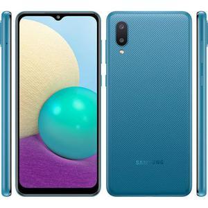Galaxy A02 64 Gb Dual Sim - Blau - Ohne Vertrag