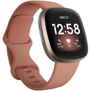 Relojes Cardio GPS Fitbit Versa 3 - Oro