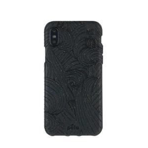 Coque écoresponsable, 100% biodégradable pour iPhone XS - Noir