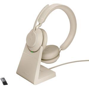Casque Réducteur de Bruit Bluetooth avec Micro Jabra EVOLVE2 65 - Beige