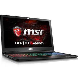 "MSI GS63VR 7RF Stealth Pro 15"" Core i7 2,8 GHz - SSD 256 GB + HDD 1 TB - 16GB - NVIDIA GeForce GTX 1060 Teclado Finés"