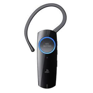 Kopfhörer Bluetooth mit Mikrophon Sony PlayStation 3 Bluetooth Headset - Schwarz/Blau