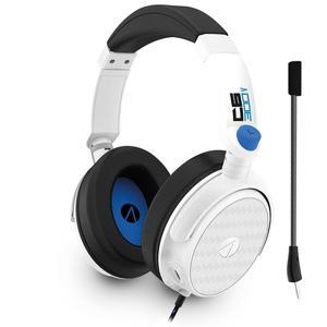 Casque Réducteur de Bruit Gaming avec Micro Stealth C6-300 V - Blanc/Bleu