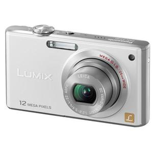 Compactcamera Panasonic Lumix DMC-FX40 - Wit + Lens Leica DC Vario-Elmarit ASPH Mega O.I.S.
