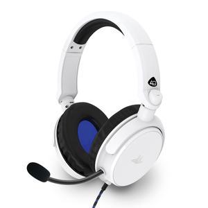 Casque Réducteur de Bruit Gaming avec Micro 4Gamers PRO4-50S - Blanc