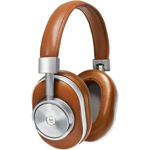 Casque Bluetooth avec Micro Master & Dynamic MW60 - Marron/Argent