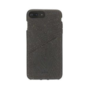 Funda Wallet Pela Eco-friendly iPhone 6/6s/7/8 Plus - Negro