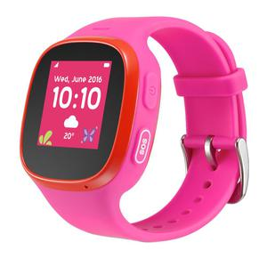 Smart Watch GPS Tcl Movetime Family Watch MT30 - Rosa/Rosso