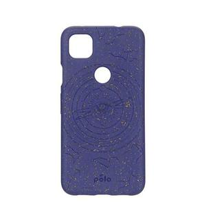 Hülle Pela Cosmic Blue (Retrograde Edition) Eco-Friendly für Google Pixel 4a - Blau