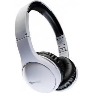 Cascos Bluetooth Micrófono Boompods WLHPBLK - Blanco/Negro