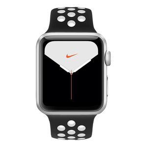 Apple Watch (Series 5) September 2019 44 - Aluminium Silver - Sport Nike Black/White