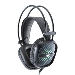 Mftek UX-A2 Kuulokkeet Gaming Mikrofonilla - Musta/Vihreä