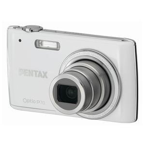 Compact - Pentax Optio P70 Argent Pentax 4X Wide Optical Zoom 28-110mm f/2.8-5