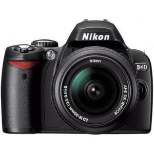 Reflex Nikon D40 - Nero + Obiettivo AF-S DX 18-55 mm