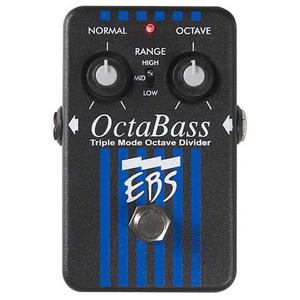 Pédale D'effet EBS Octabass - Bleu/Noir