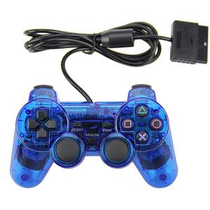 Control Wired PlayStation 2 Under Control - Transparent Blue