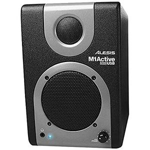 Alesis M1 Active 320USB Speaker- Zwart/Grijs
