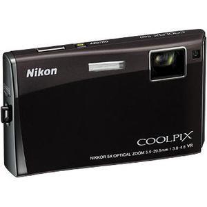 Compactcamera Nikon Coolpix S60 - Zwart + Lens Nikon Nikkor 5X Optical Zoom