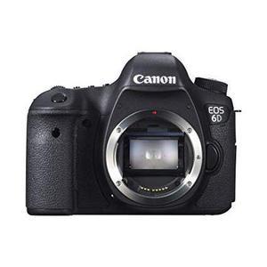 Reflex Canon EOS 6D - Nur Gehäuse - Schwarz