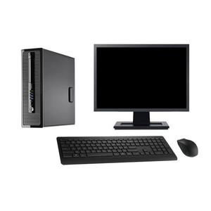 "Hp ProDesk 400 G1 SFF 22"" Core i5 3,2 GHz - SSD 2 To - 16 Go AZERTY"