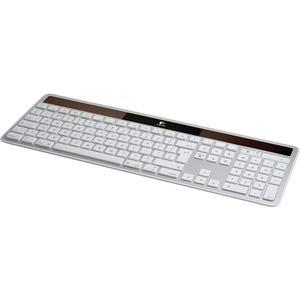 Tastatur Solar Drahtlose Logitech Solar K750 - QWERTZ - Schweiz - Silber