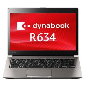 """Toshiba Dynabook R634 13"""" Core i5 1,7 GHz - SSD 128 GB - 4GB AZERTY - Französisch"""