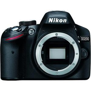 Reflex - Nikon D3200 - Schwarz + AF-S DX NIKKOR 18-55 mm 1: 3,5-5,6 G II ED-Objektiv