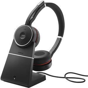 Casque Réducteur de Bruit Bluetooth avec Micro Jabra Evolve 75 MS - Noir