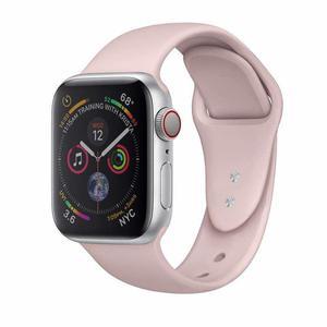 Apple Watch (Series 3) Septembre 2017 38 mm - Aluminium Argent - Bracelet Sport Rose