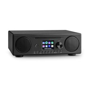 Micro Hi-Fi Auna 10035058 - Musta