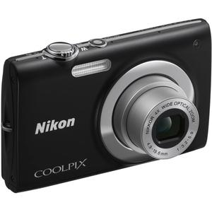 Compact - Nikon Coolpix S2500 Noir Nikon Nikkor 4X Wide Optical Zoom