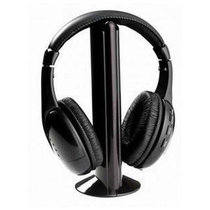 Brigmton BAI-220 Kuulokkeet Mikrofonilla - Musta