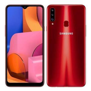 Galaxy A20S 32 Gb - Rojo - Libre