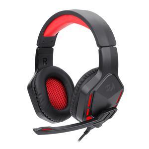 Casque Réducteur de Bruit Gaming avec Micro Redragon H220 Themis - Noir/Rouge