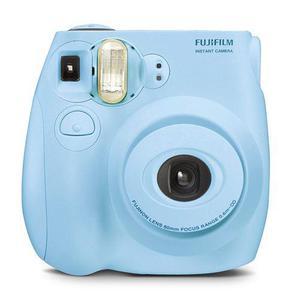 Sofortbildkamera Fujifilm Instax Mini 7S Blau + Objektiv Fujifilm Fujinon Lens 60 mm f/12.7
