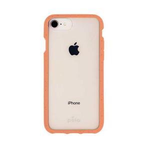 Coque écoresponsable, 100% biodégradable pour iPhone 6/6s/7/8/SE - Cantaloup
