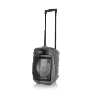 Lautsprecher Bluetooth Boomtonedj Traveler 8 VHF - Schwarz
