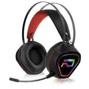 Casque Gaming avec Micro Advance GTA 230 RGB - Noir/Rouge