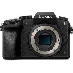 Κάμερα DSL Mirrorless Panasonic Lumix DMC-G7K - Μαύρο + Φωτογραφικός φακός Panasonic Leica DG Vario-Elmarit 12-60 mm f/2.8-4